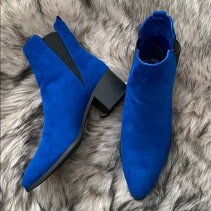 COPY - Forever 21 Suede Pointed Boots